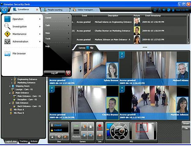Bosch Security Systems и Genetec. Непрерывная защита, изо дня в день.