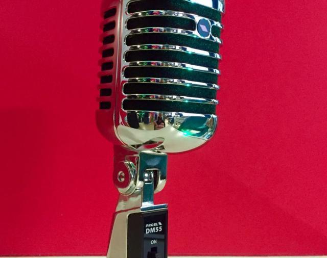 """Представляем современный микрофон с """"ностальгическим"""" внешним видом Proel DM55"""