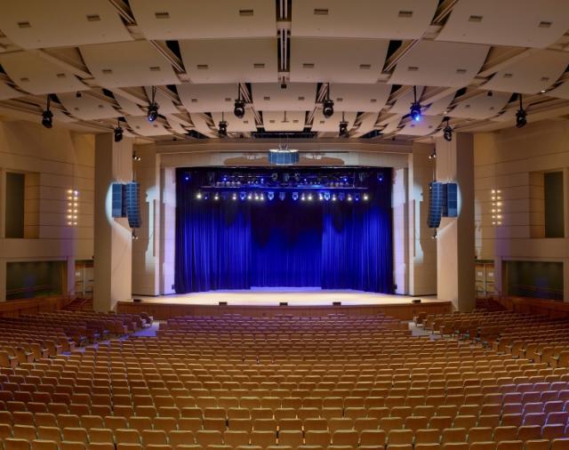 Конференц-центр Миннеаполиса устанавливает нестандартную систему L-Acoustics.