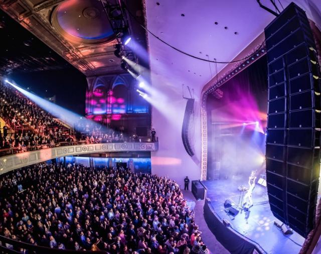 Большое возвращение «Palace Theatre» с помощью L-Acoustics