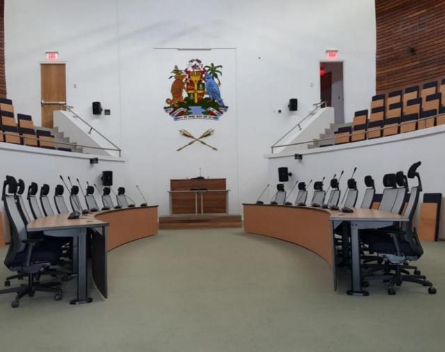 Комплексное решение Electro-Voice, Dynacord, Bosch для здания парламента Гренады
